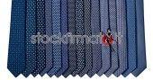 Stock cravatte pura seta