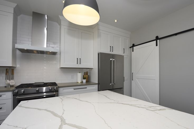 Quartz Countertops The Look Of Marble Without The