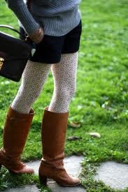tights and boots <3