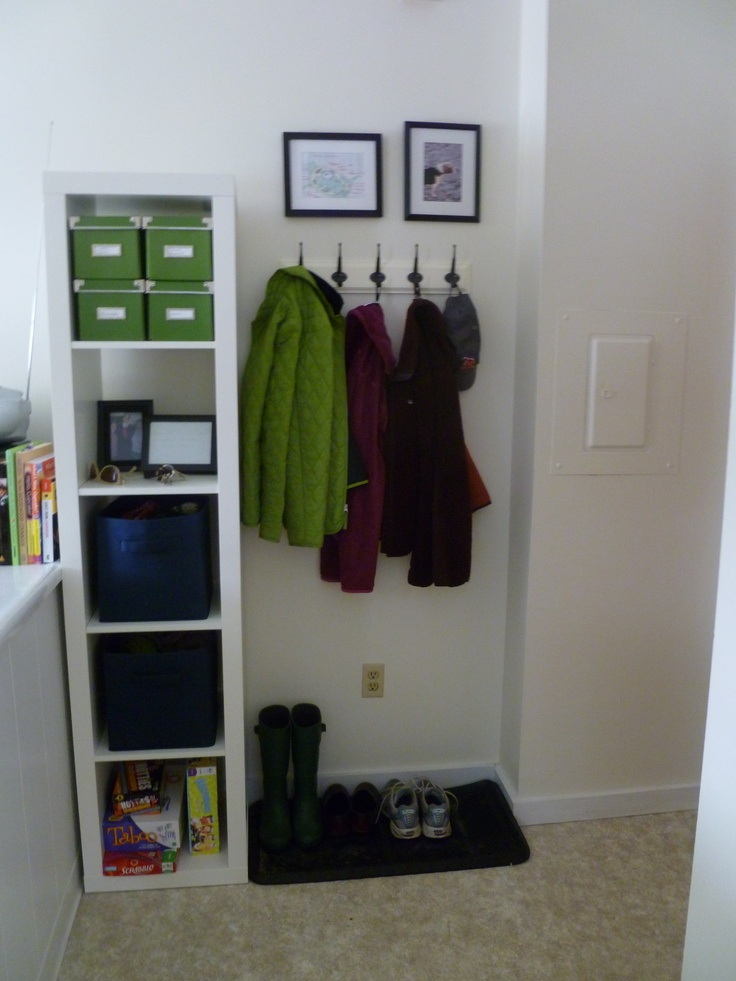 post-IKEA entryway makeover