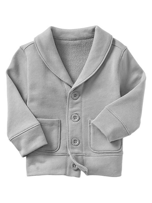 Obsessed. Bought this one for Ben... and a matching one for Luke :). Shawl cardigan, baby gap.