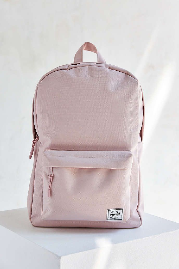 Back to School shopping with Urban Outfitters: Hershel Light Pink Backpack