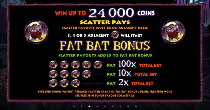 Up to 24 000 coins are waiting up for wins. Join the party and #play Boogie Monster Online Slot
