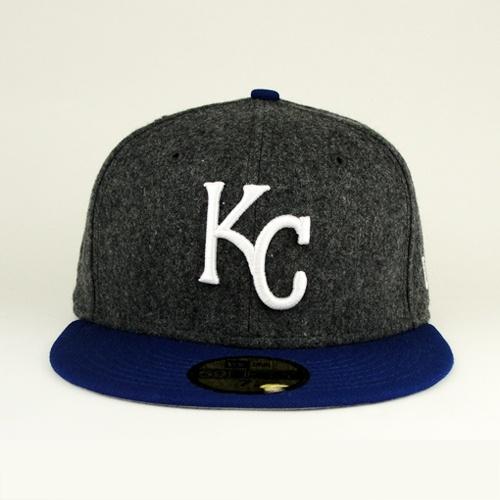 89db399ea ... kansas city royals gray flannel royal hat gray under 59fifty
