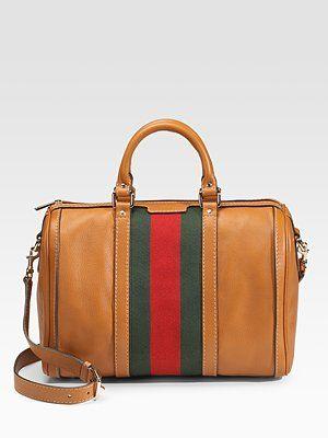 Gucci Vintage Web Medium Boston Bag    Yes please!