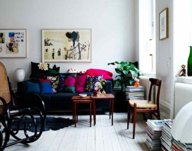 Eclectic Scandinavian Traditional Modern Living Design TN173