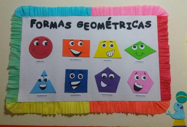 #FormasGeométricas #Arte #Artesanato #DIY #Colorindo #Painel #Pedagogia #Circo #Foca #Alegria