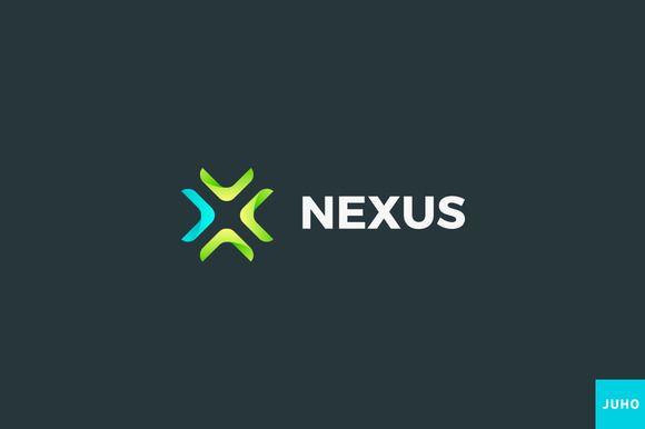 Nexus Logo Template by JuhoDesign on @creativemarket