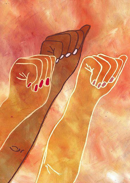 car-pediem:  Feminism by Waking Illustration on Flickr.