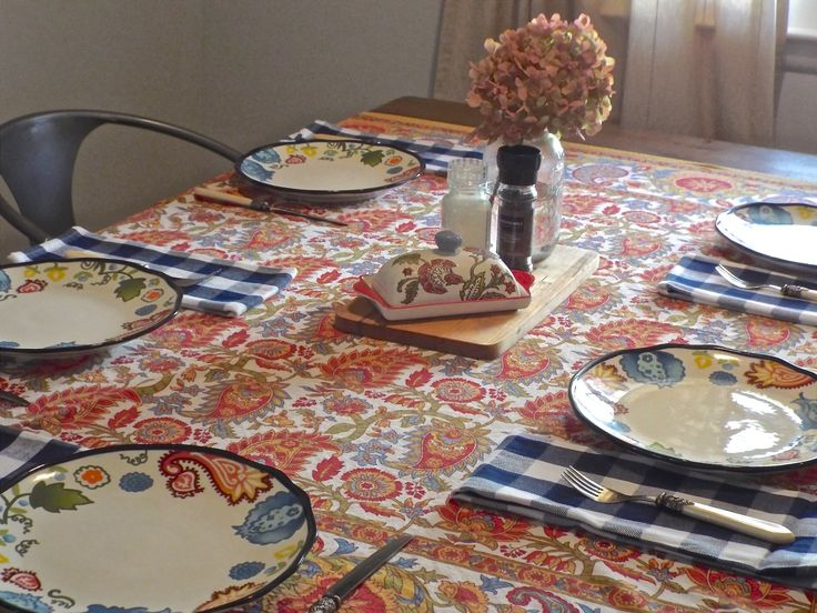 A Small Dining Room set for Dinner with the Parents