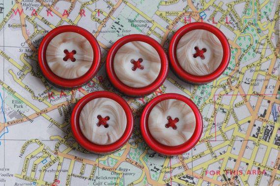 Button Fridge Magnet Set