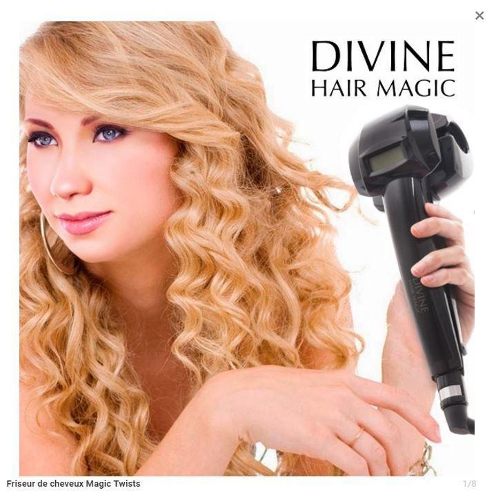 Appareil à boucler ,friser les cheveux