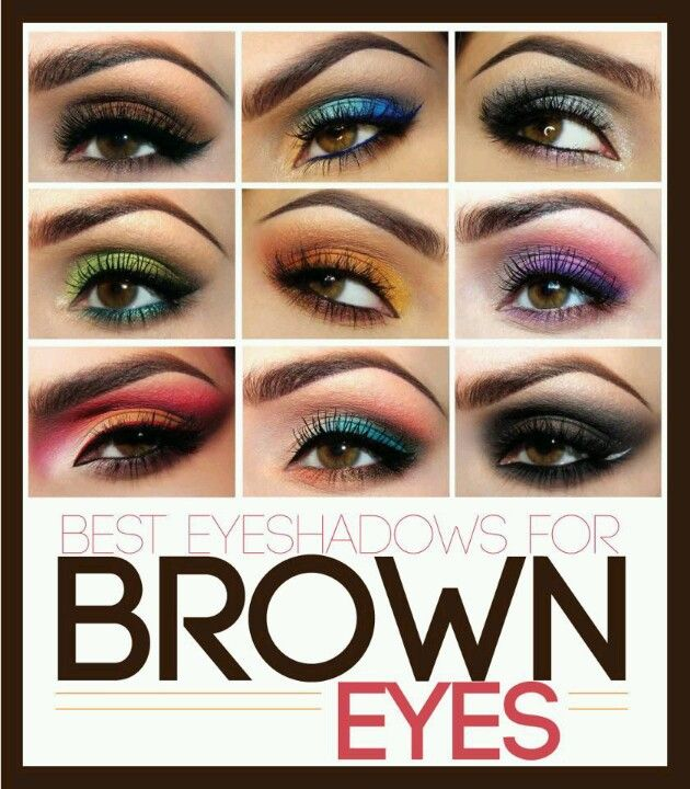 23 best eyeshadow to compliment brown eyes images on. Black Bedroom Furniture Sets. Home Design Ideas