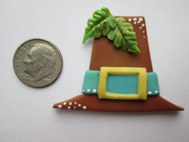 Needle Minder - Brown Pilgrim Hat (Clay)