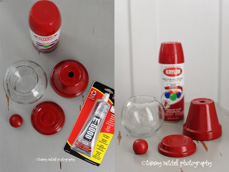 DIY gumball machine favor-these could be cute as centerpieces at a candy themed party