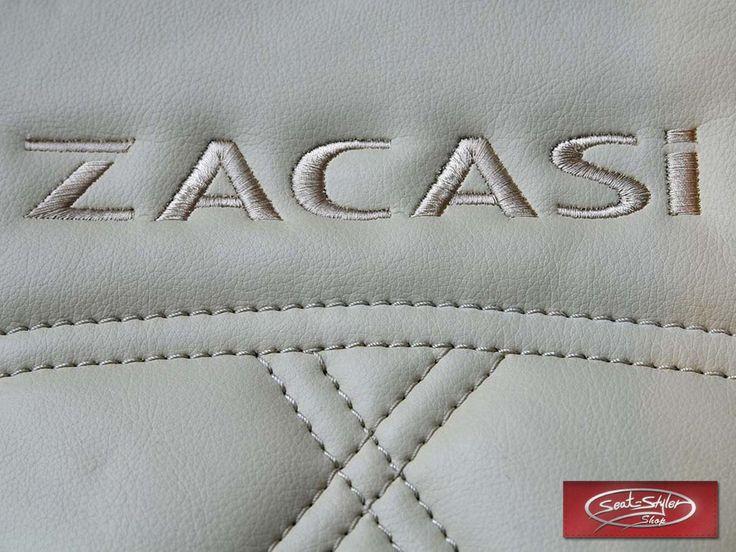 #manufacturer #ZACASi #logo #beige #leather #seam #seat #seatcovers #AUDI #BMW #MERCEDES