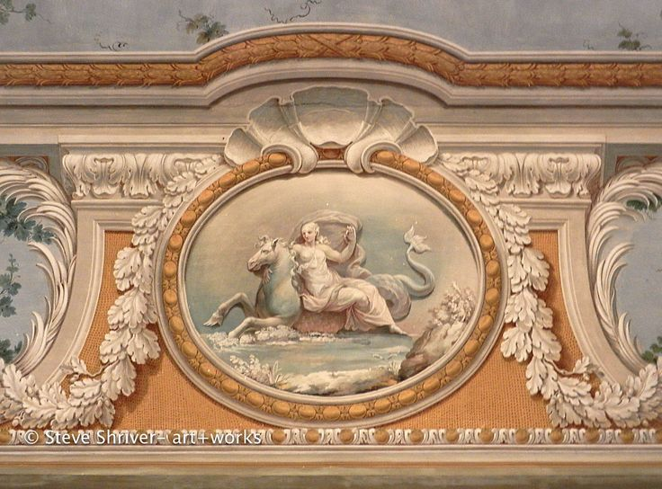Palazzo Colonna, Rome (Baroque detail showing the myth of the Rape of Europa)
