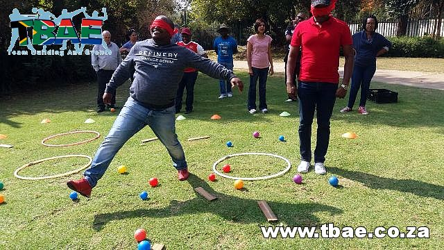 AECI Amazing Race and Cooperation Outcome Based team building Sandton