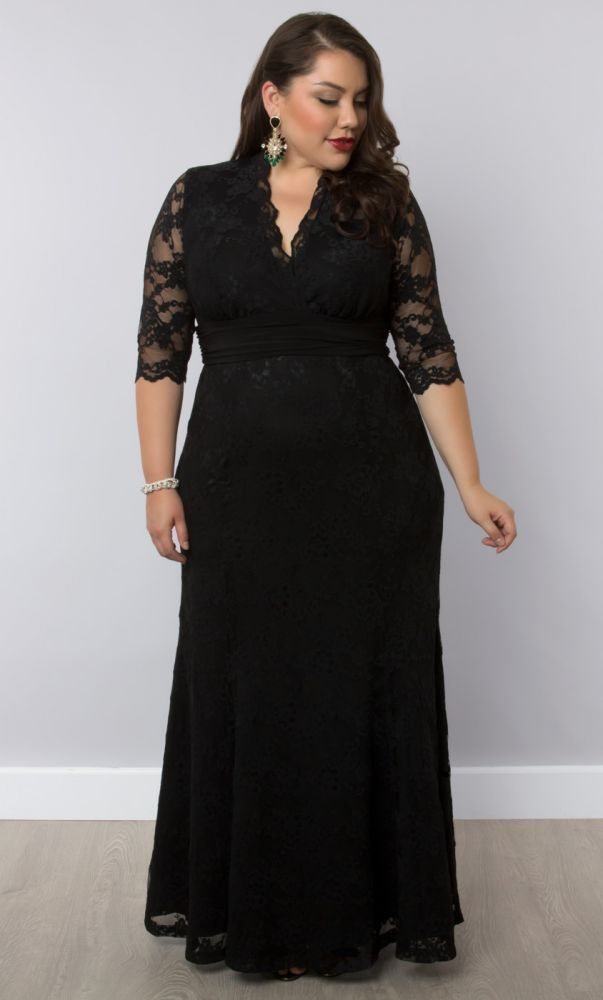 Plus Size Special Occasion Dress | Kiyonna's Plus Size Formal Gowns                                                                                                                                                      More