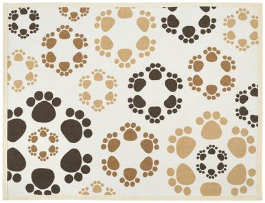 "Fashion Forward Cotton Mat 19""""""""x25.75""""""""-Paw Flowers"