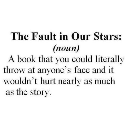 #the fault in our stars book definition | Dictionary ...