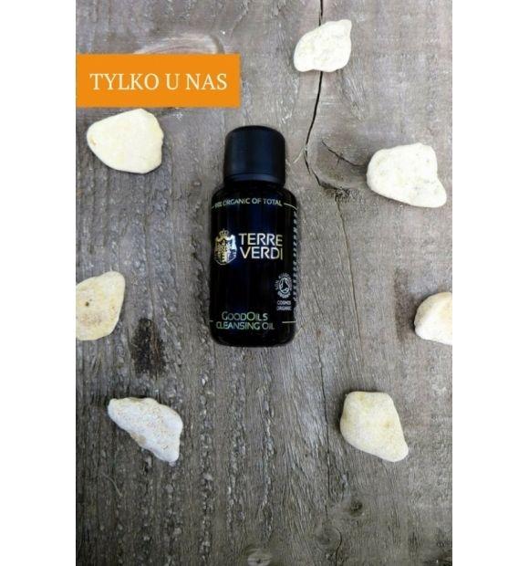 Olejek do oczyszczania twarzy GoodOils - Terre Verdi, 30 ml  GoodOils to mieszanka olejów organicznych, która idealnie usunie z twarzy zanieczyszczenia i pozostałości makijażu zapewniając jednocześnie skórze odpowiednią pielęgnację.