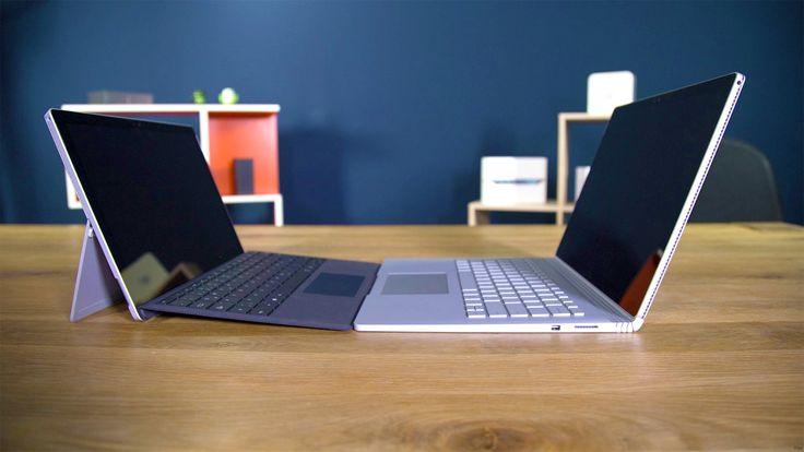 Comparatif entre la Surface Pro 4 et le Surface Book: Lequel devez-vous acheter ! Avec larrivée du nouveau Surface Book de Microsoft la gamme Surface sagrandit une nouvelle fois et est désormais constituée de 3 produits la Surface 3 la Surface Pro 4 et le Surface Book. Si la différence est assez nette entre la Surface 3 et le reste de la gamme le choix se corse au moment de décider entre la Surface Pro 4 et le Surface Book. Différences ? Lequel devez-vous acheter ? Surface Pro 4 ? Surface…