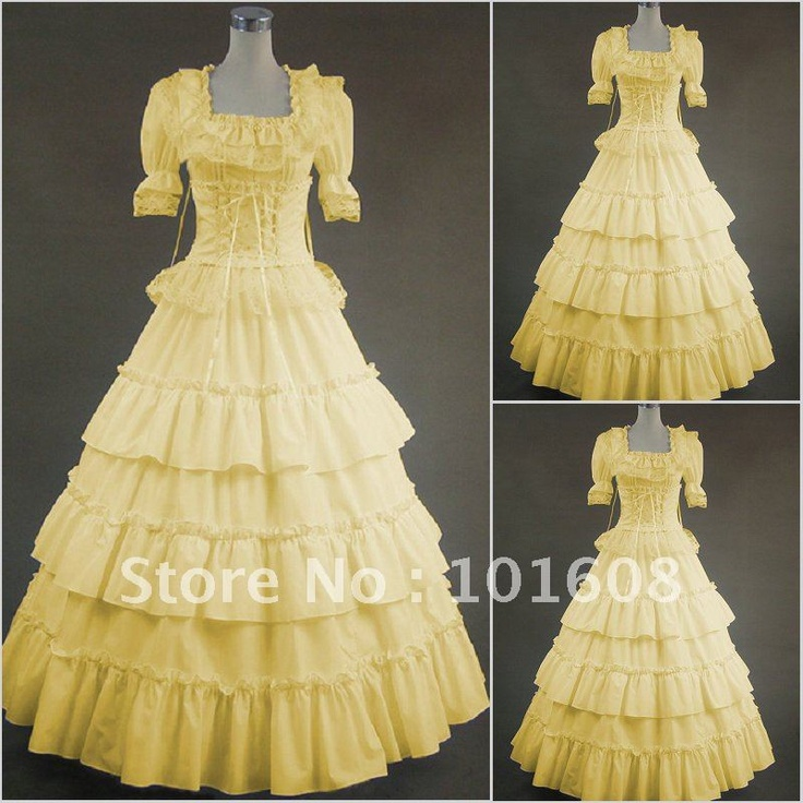 18th Century Retro Gothic Victorian Party Dresses Summer Floral Pattern  Square Collar Sleeveless Southern Belle Ball Gowns 5d0f14a7fd1a