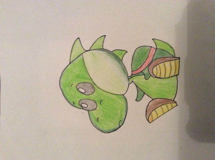 Kawaii Yoshi. Made it with help from dragoart.com