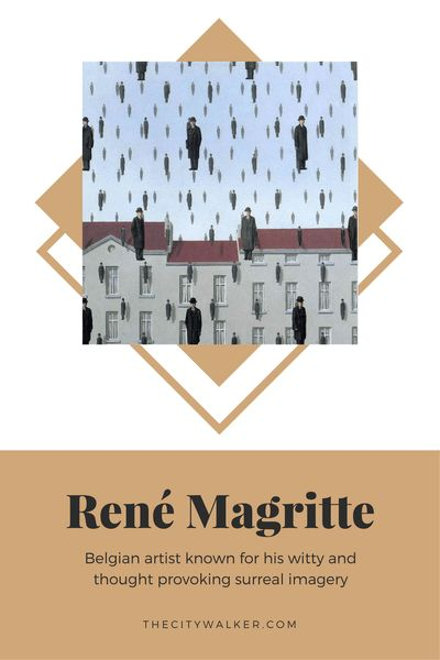 Learn About Art | René Magritte  | Famous Paintings And Their Meaning | Interpretation Of Paintings