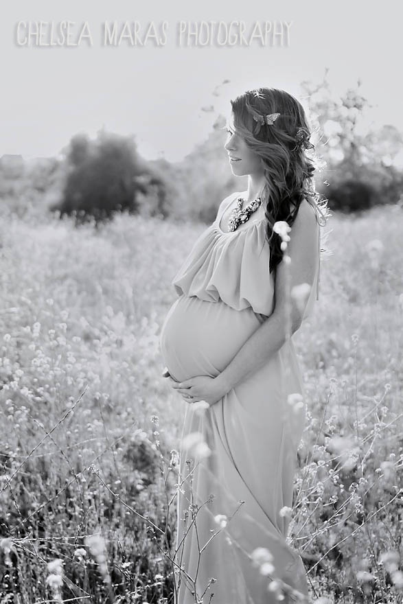 Black White Maternity