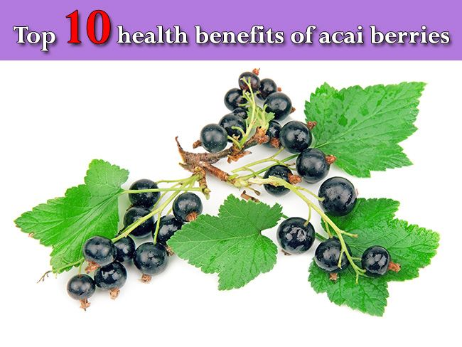 Top 10 health benefits of acai berries #food #acai