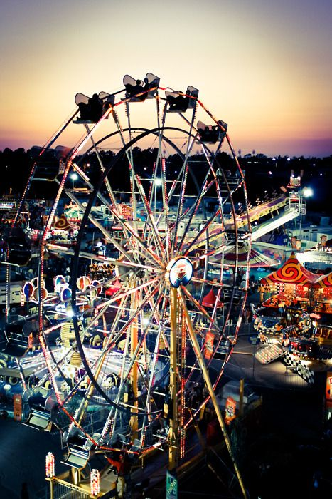 L.A. Fair! My bf and my first date :)