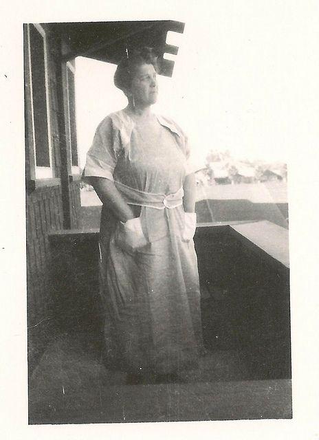 Josephine in 1921, Wyatt's common in law wife.