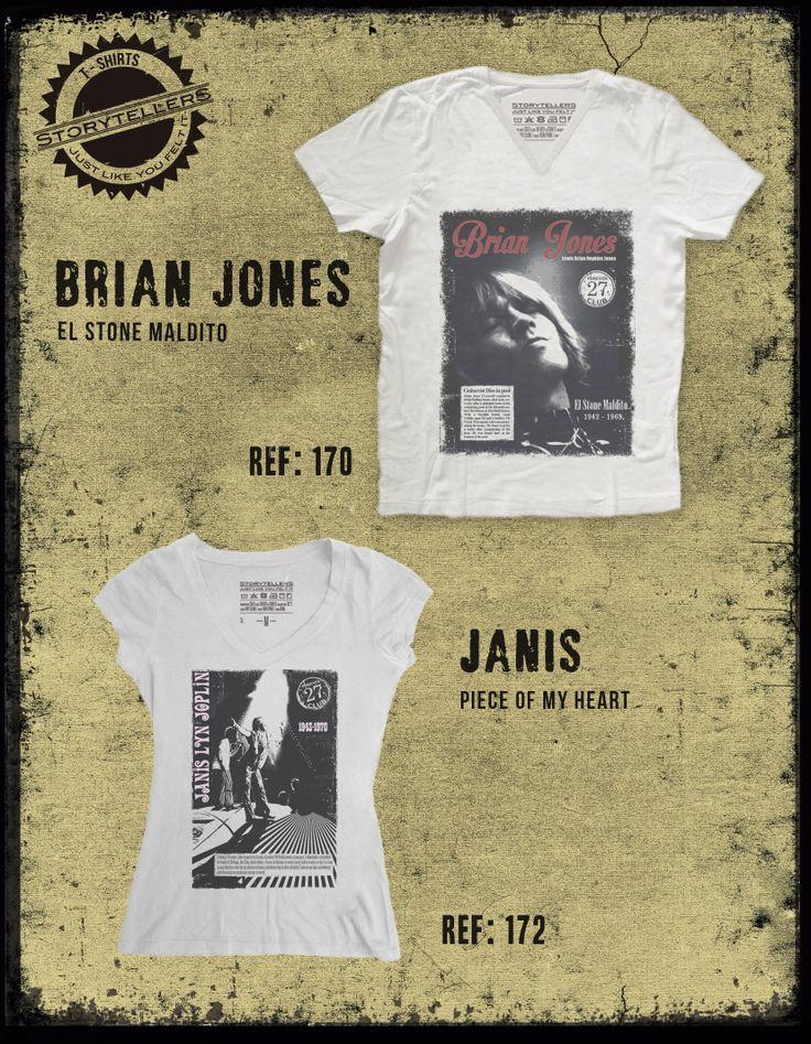 Brian Jones, Janis Joplin