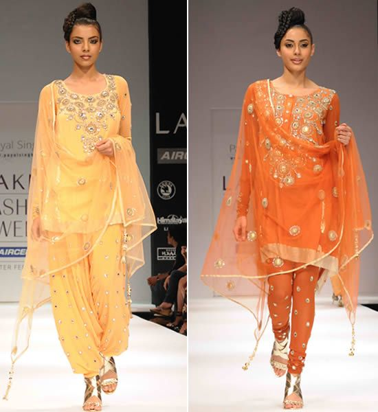 WeddingSutra Editors' Blog » Blog Archive » Payal Singhal celebrates 10 years of her label at LFW
