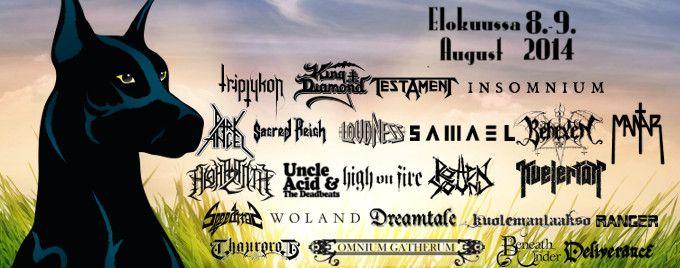 Jalometalli Festival | Jalometalli Metal Music Festival Oulu Finland. Metallimusiikin Festivaali.