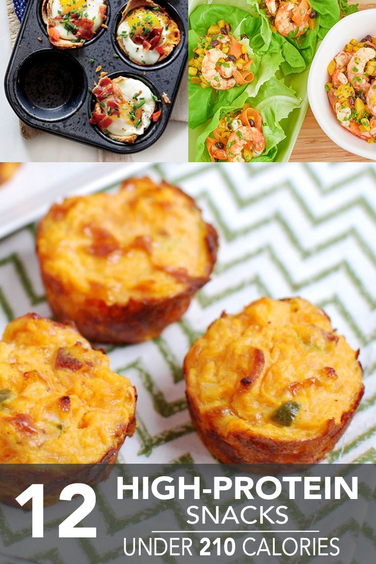 Keep your appetite in check with these 12 easy high-protein snacks — all for just 210 calories or less!