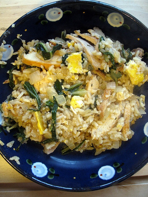 chicken fried rice with bok choy. | Recipe cookbook | Pinterest