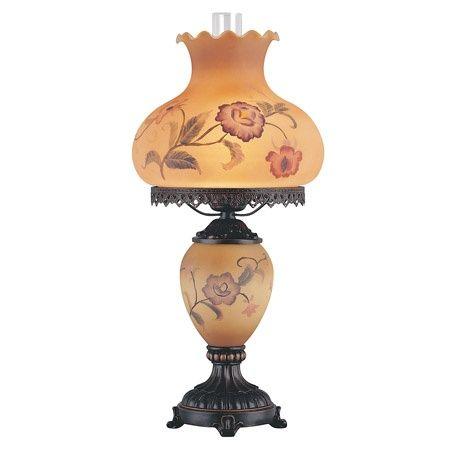 Victorian Hurricane Table Lamp | Victorian Elizabeth Hurricane Table Lamp