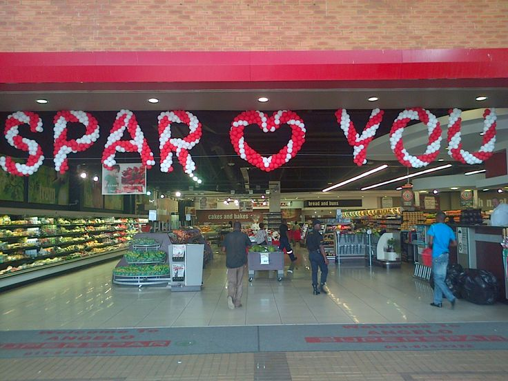 Valentine decor for Angelo Superspar