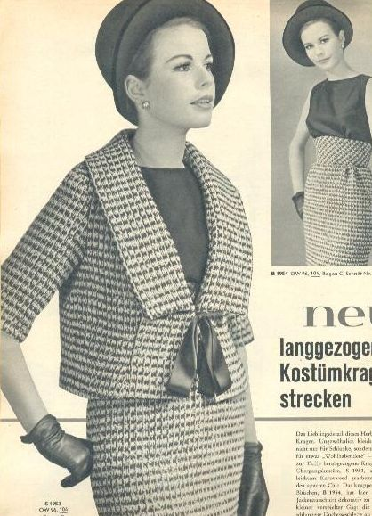 Another good jacket idea ... even if it is.50s Fashion