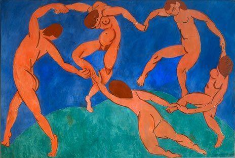Henri Matisse, De dans (Danse), 1910 Matisse tot Malevich: Hoogtepunten uit de tentoonstelling - Hermitage Amsterdam