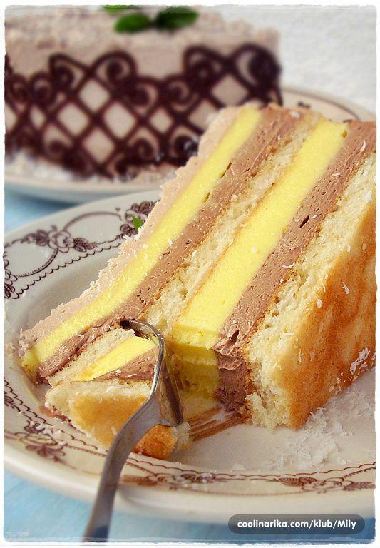 Torta s kokosom i čokoladom