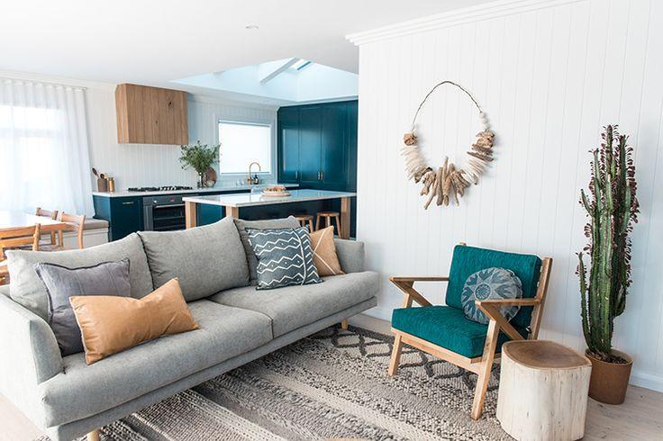 The Australian made 'Nova' sofa from OZ Design Furniture.