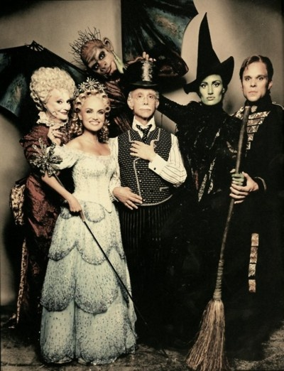 Original Wicked cast. The costuming for this show is so amazing!
