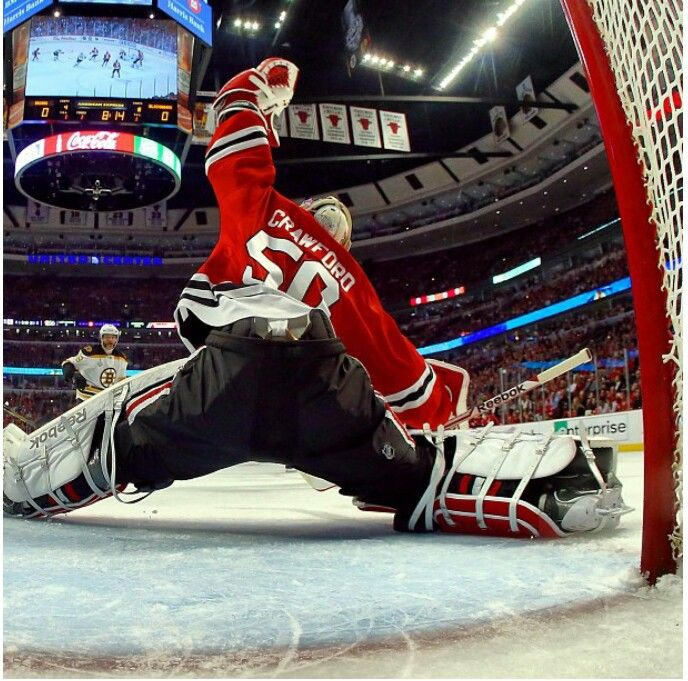 Chicago Blackhawks Crawford