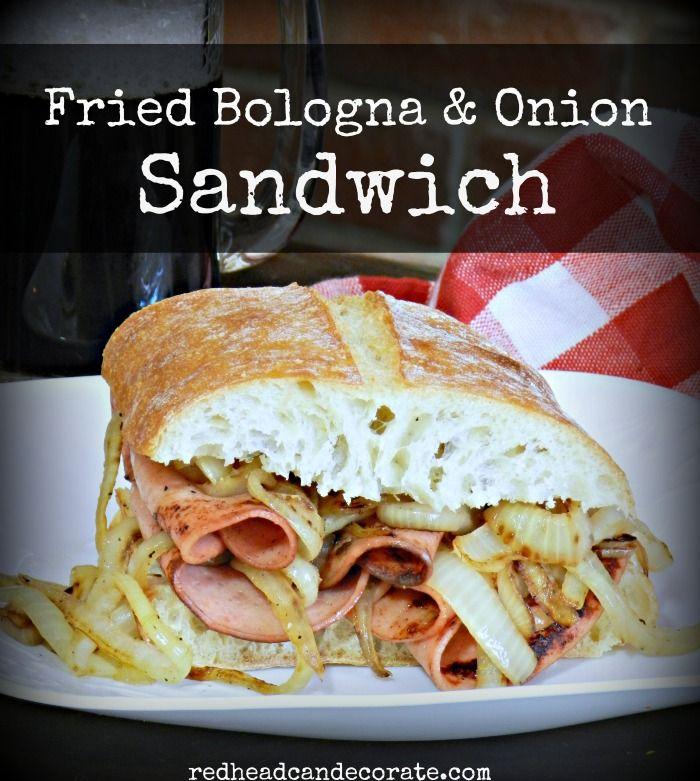 redhead can decorate Fried Bologna Sandwich Secret http://redheadcandecorate.com/2015/10/fried-bologna-sandwich-secret/ via bHome https://bhome.us