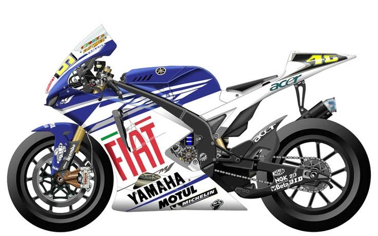 Yamaha YZR-M1 2007 - Fiat