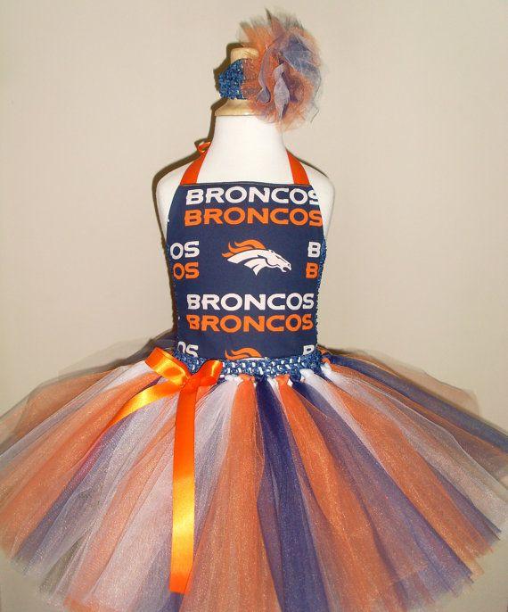 Denver Broncos Tutu Dress